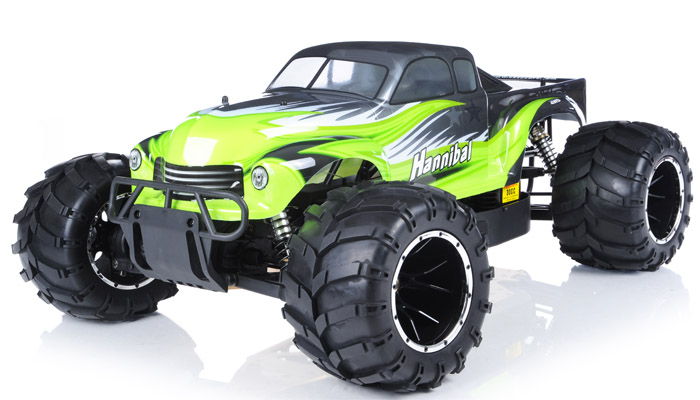15th Giant Scale Exceed RC Hannibal 30cc GasEngine led OffRoad