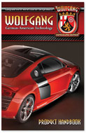 Learn about Wolfgang Concours-Series World Class car care products. Wolfgang Concours Series is a complete line of world class car care products. Wolfgang Deep Gloss Paint Sealant is the premier synthetic polymer paint sealant with long lasting paint protection and carnauba-like gloss. The booklet takes you from an introduction that includes the vision and purpose of creating this state-of-the-art line of care products through a detailed description of each product.