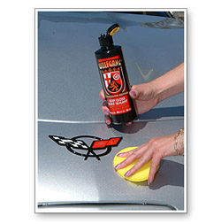 Apply Wolfgang Deep Gloss Paint Sealant 3.0 over the entire vehicle either by hand or with a machine.