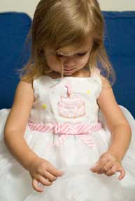 Smocked First Birthday