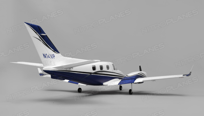 Aerosky Rc B60 Duke 6 Channel Twin Engine Arf Wingspan