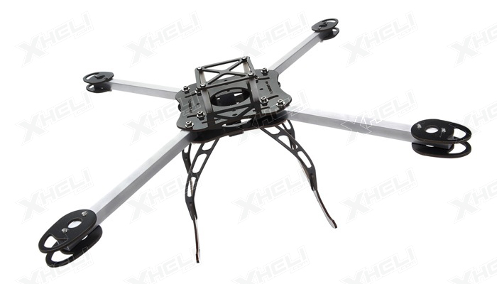 flying robot 400 quadcopter airframe kit rc remote control