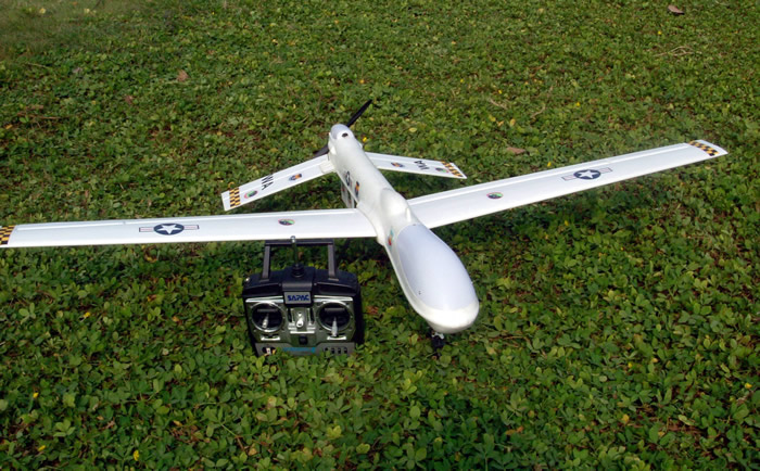 4 Channel Uav Radio Remote Control Electric Rc Spy Plane