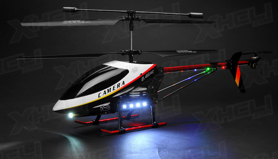 Udi U12a Rc Large Size 3 Channel Helicopter Metal Version