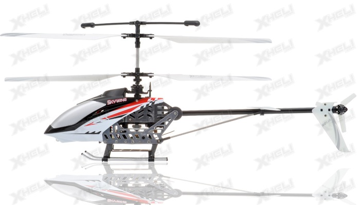 Rc 4 Channel Skywing 2 4ghz Rtf Helicopter Rc Remote