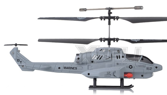 New UDI U809 Cobra Missile Launching 3 5 Channel Micro RC Helicopter
