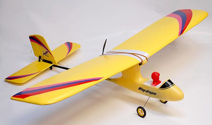 3 CH Art-Tech Wing Dragon Park Flyer Trainer Radio Remote ...