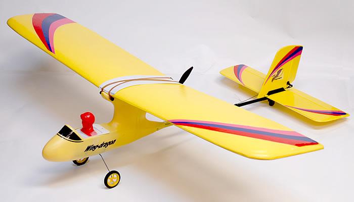 3 Ch Art Tech Wing Dragon Park Flyer Trainer Radio Remote