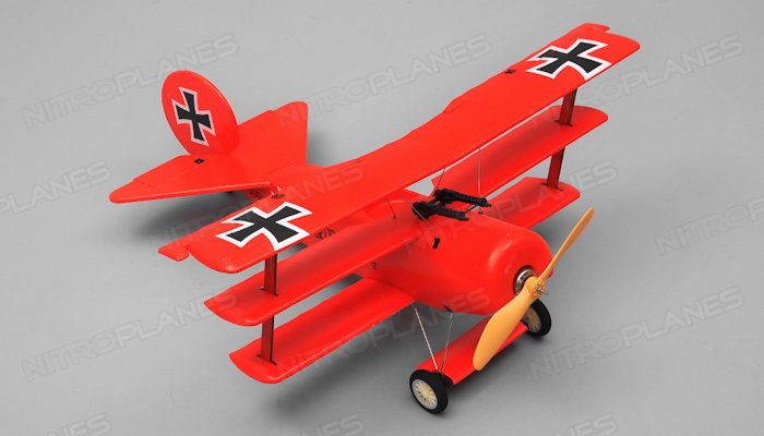 Airwing Red Baron 4 Channel Rc Bi Plane Epo Rtf 2 4ghz