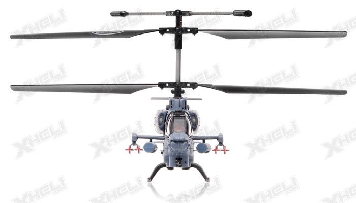 syma s036g gunship 3 channel helicopter w   gyro  grey  rc