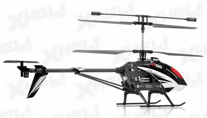 syma s33 3 channel rc helicopter 2 4ghz  black  rc remote