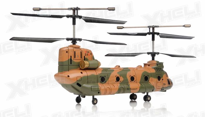 syma s34 3 channel chinook helicopter 2 4ghz camo rc remote rh xheli com