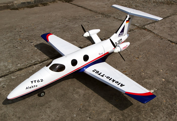 tt-62 alekto electric twin-engine fiberglass rc airplane ... twin engine rc electric wiring antique v twin engine diagram
