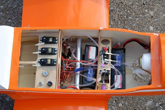 421 Twin Engine Sky Trainer 46 71in Nitro Electric Arf