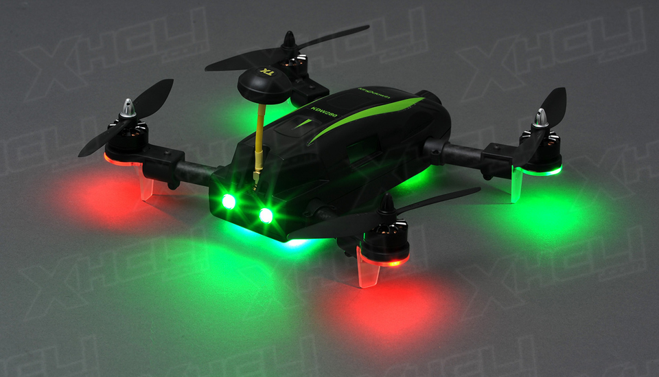 Top RC Hobby Racer Kingdowin KDW280 FPV Racing Drone Quad