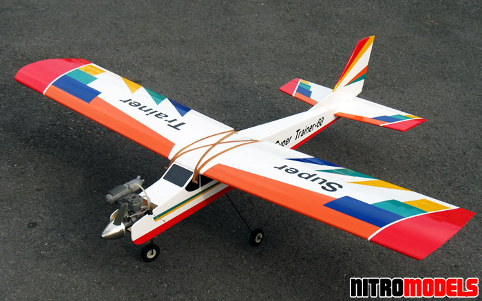 Nitromodels Rc Airplane Sports Trainer 46 60 65