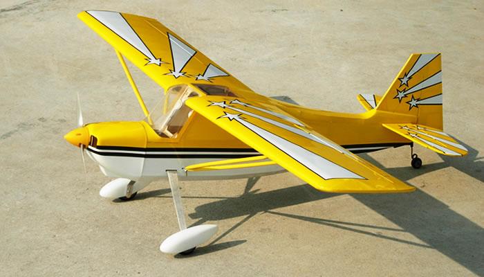 Nitromodels Decathlon Ep Rc Plane Rc Remote Control Radio
