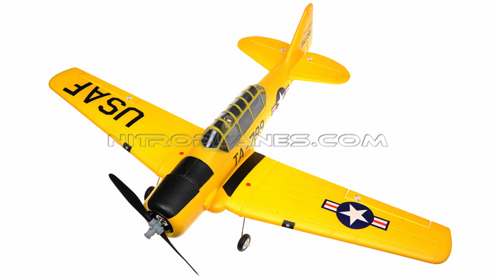 Airfield At6 Texan 800mm Rc Warbirds Airframe Kit Version