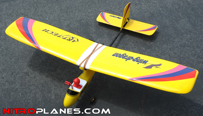2.4Ghz Art Tech Wing Dragon 3 Channel RTF Slow Flyer ...
