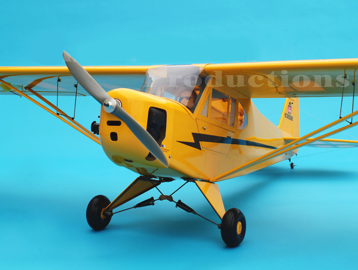 Giant Scale J3 Piper Cub 120 91 Quot Engine Powered Scale