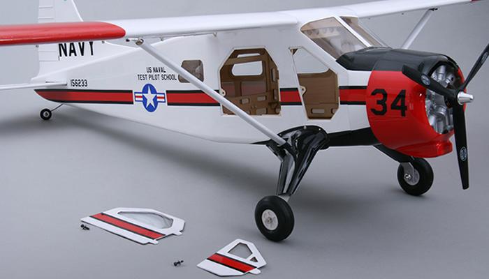 5 Ch Cmp Dhc Beaver 1800mm Fiberglass Rc Airplane Kit Rc