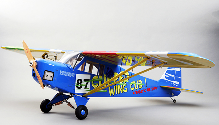 J3 Piper Cub 30cc Remote Control Gas Plane Kit Rc Remote