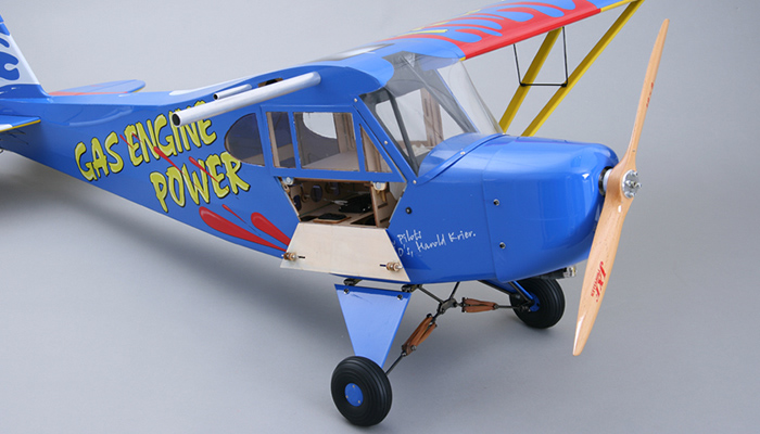 J3 Piper Cub 30cc Remote Control Gas Plane Kit Rc Remote