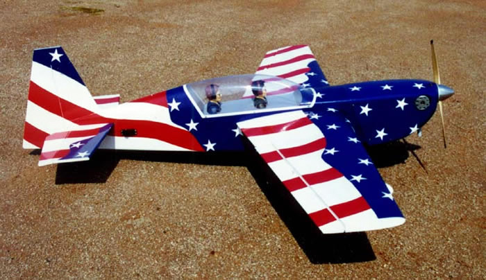 New Usa Edge 540t 90 72 Quot Almost Ready To Fly Rc Remote