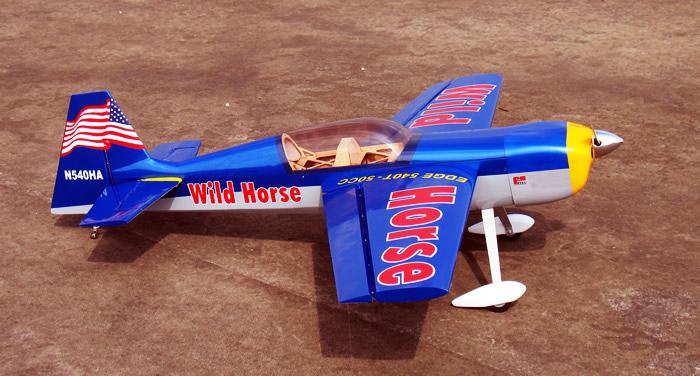 Wild Horse Edge 540T - 50CC Nitro RC Aerobatic Plane ARF