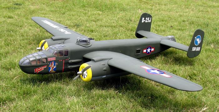 Military B 25 Mitchell 52 71 Quot Nitro Gas Twin Engine