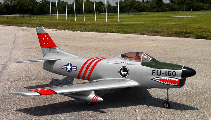 Modelbau F86 Sabre Dog Turbine Jet Kit Gas F86sabre