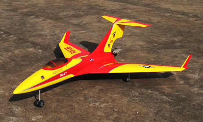 Flying Cat 90 60 Quot Arf R C Pusher Jet A Radio Remote