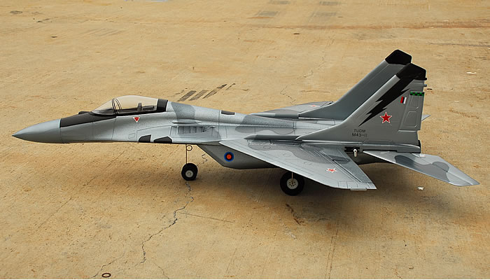 Hc Hobby Mig 29 Edf Electric Twin 55mm Ducted Fans W