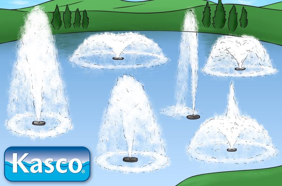 kasco j series pond fountains