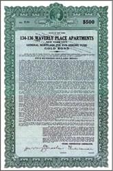 Waverly Place Apartments 1928 ( Citadel Construction Corporation ) - New York