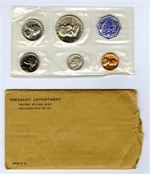 1956 U.S. Mint Silver Proof Set (5 coins) - Excellent Condition
