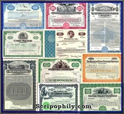 20th Century Package - 10 Certificates representing each decade