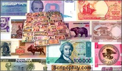 WORLD PAPER MONEY COLLECTION - 50 Different