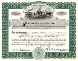 7up Company of Cuba, Inc. - Atlanta, Georgia 1940