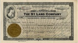 91 Land Company - San Francisco, California 1960
