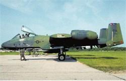 A-10A Warthog postcard