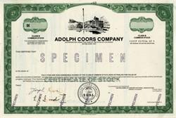 Coors Beer Company - Colorado 1980