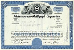 Addressograph - Multigraph Corporation, Delaware, 1977