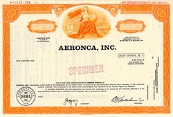 Aeronca, Inc. (aerospace components) - Ohio 1971