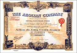 Aeolian Company 1922 - Famous Piano, Organ, and Record Company