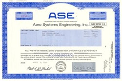 Aero Systems Engineering, Inc - Minnesota 1998