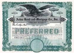 Aetna Bond Mortgage Co., Inc.
