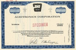 Agritronics Corporation - Iowa 1970