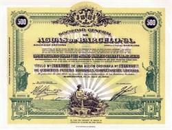 Aguas De Barcelona - Barcelona Water Company