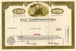 AIC Corporation - Delaware 1965